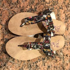 Blowfish Floral Sandals